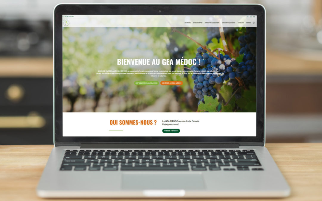 GEA Médoc c'est parti : nous inaugurons notre nouveau site internet entièrement personnalisé ! Envie d'en savoir plus sur le fonctionnement du GEA ? Venez suivre nos actualités et voir nos dernières offres d'emploi en ligne sur www.geamedoc.com